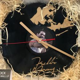Freddie Mercury Record Clock - Lazer Cut