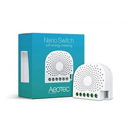 Aeotec Nano Switch with Power Monitoring - Z-Wave Plus Smart Switch