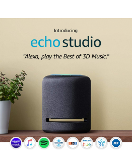 Amazon Echo Studio - High-fidelity smart speaker with 3D audio and Alexa