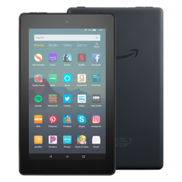 "Amazon Fire 7 Tablet - 7"" Display 16 GB (Shipping through Lock-Down)"
