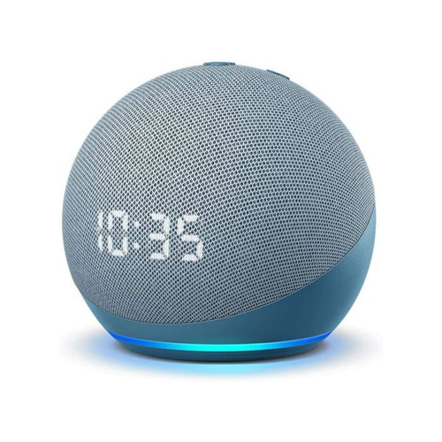 Amazon Echo Dot with Clock (4th Gen) - Smart speaker with Alexa