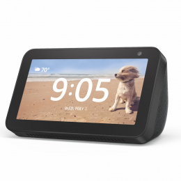Amazon Echo Show 5 - Smart nightstand display with Alexa