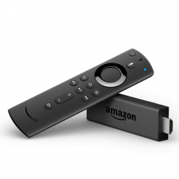 Amazon Fire Stick 4K with alexa voice remote - Streaming Media Player