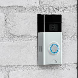 Ring Video Doorbell V3 - Smart Security Doorball - works with Alexa