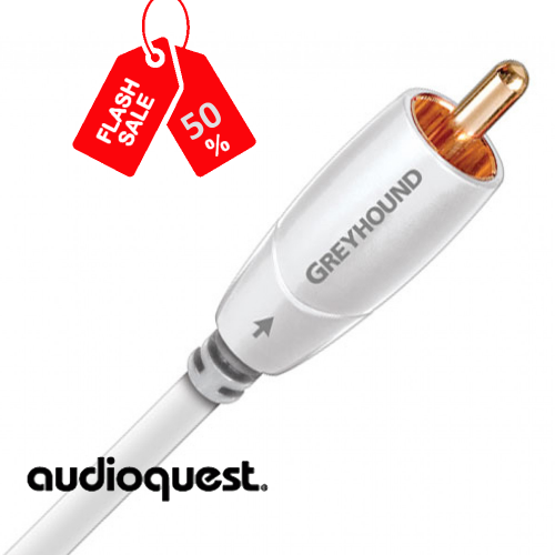 AudioQuest Greyhoud - Subwoofer Cable 2m