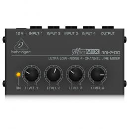 Behringer MX400 - Ultra Low-Noise 4-Channel Line Mixer