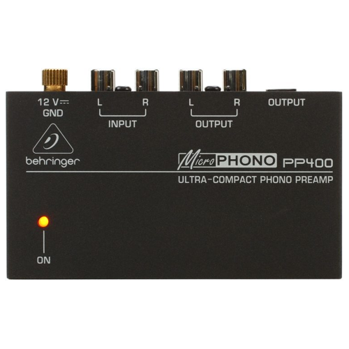 Behringer PP400 - Ultra-Compact Phono Preamp (stock mid Feb)