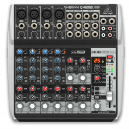 Behringer QX1202USB - Premium 12-Input 2-Bus Mixer