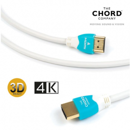 Chord C-View Hdmi Cables - Ultra-slim High Speed HDMI cable with Ethernet