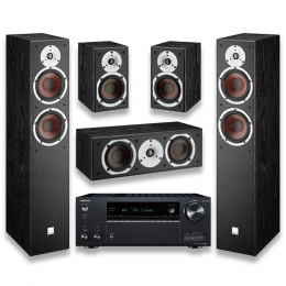 Dali Spektor 6 Package incl Onkyo TX-NR696 - Home Theatre Package
