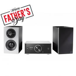 Denon PMA30 Mini Amp + Definitive Demand D7 Speakers
