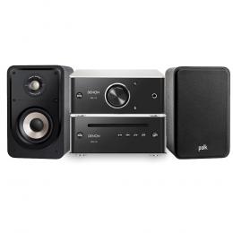 Denon Mini System - Mini System with Polk S15E Bookshelf Speakers