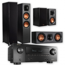 Klipsch System - Klipsch R-820F and Denon AVRX2600H 5.1 Surround System