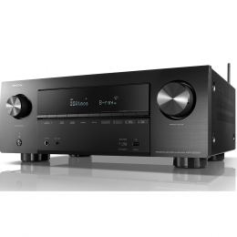 Denon AVR-X2600H Home Theatre Receiver - 7.2ch 4K Ultra HD AV Receiver with 3D Audio and HEOS Built-in®