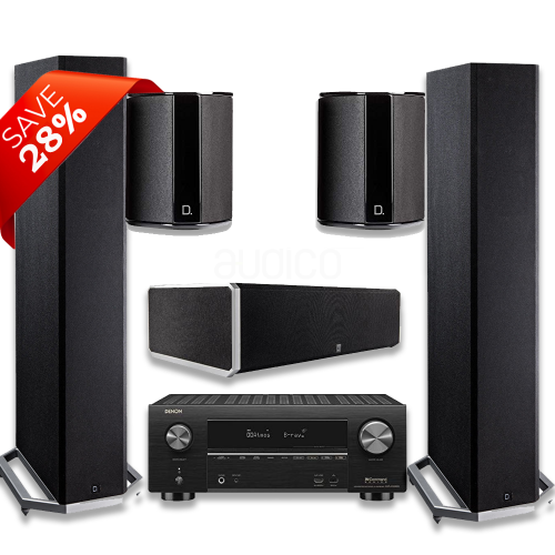 Denon AVR-X3600H Package including Definitive Technology Speaker Pacakage