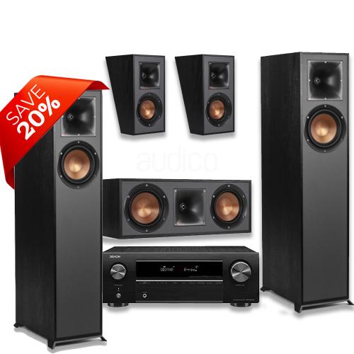 Denon AVR-X550 Package including Klipsch Speaker Package