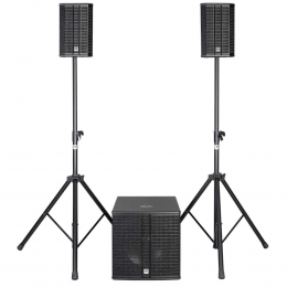 HK Audio LUCAS 2K15 - Active 2.1 stereo PA system
