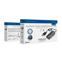 Inakustik Bluetooth Transmitter & Splitter - Bluetooth Audio Transmitter & Splitter optical input