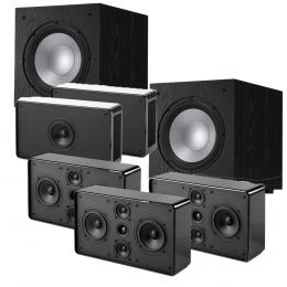 Jamo D500HCS5.2 - THX Speaker Package Including 2 x Jamo J10 Subwoofers