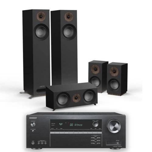 Jamo Onkyo Package : Onkyo TX-SR393 incl Jamo S 805HCS Speaker Package