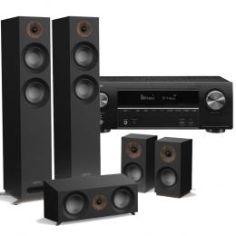 Jamo S807 HCS incl Denon AVR-X1600H Cinema Amp - Home Cinema System Atmos Ready