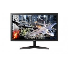 LG 24 FHD UltraGear Gaming Monitor: 24GL600F-B