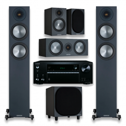 Monitor Audio Bronze 200 Package Incl Onkyo TX-NR575