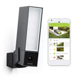 Netatmo Smart Outdoor Camera - Facial Recognition Smart Camera and Light