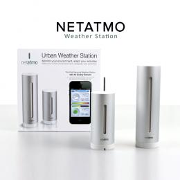 Netatmo Smart Home Weather Station - Indoor & Outdoor Station Pack