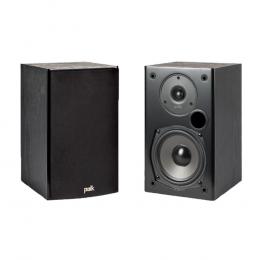 Polk T15 -  Bookshelf Speakers Pair (Black)