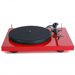 Pro-Ject Debut Carbon - Turntable with Carbon Tonearm - RED