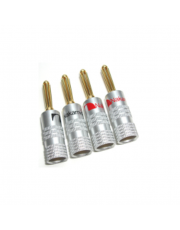 Nakamichi Banana Plugs - Pair ( 5 PAIRS LEFT IN STOCK)