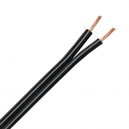 QED 42 Strand Speaker Cable per meter - Black