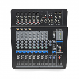 Samson MXP 124FX - Compact 12-Input Analog Stereo Mixer with Effects and USB