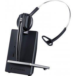 Sennheiser D 10 USB ML - EU - Wireless DECT headset (monaural) with base station