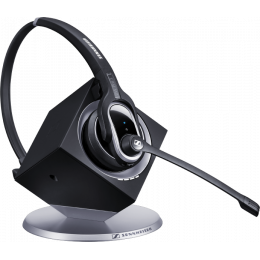 Sennheiser DW 20 PHONE - EU - Wireless Monaural Professional headset with base station