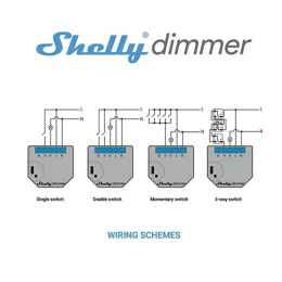 Shelly Dimmer 2 - WiFi Operated Dimmer