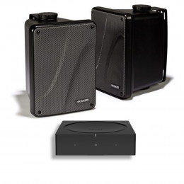 Sonos Entertainment Package - Sonos Amp and Kicker KB6000 set