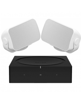 Sonos Outdoor Sound Package - Sonos Amp + Sonance Mariner Speakers