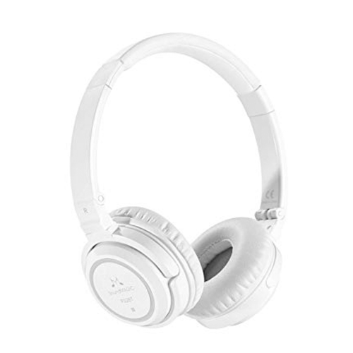 SoundMAGIC P22BT - Portable Wireless Bluetooth Headphones (White)
