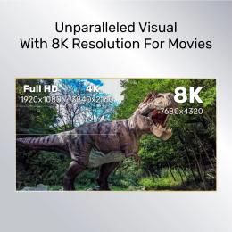 Unitek 8K Ultra High Speed HDMI 2.1 Cable - 2 meters
