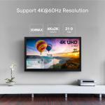Unitek 4K 60Hz Fiber Optic HDMI 2.0 - 20m Fibre Hdmi Cable