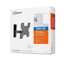 """Vogels WALL 3125 - Full-Motion TV Wall Mount (19-43"""")"""