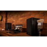 Klipsch R-41PM Powered Speakers - Active Bookshelf Speakers (no amp required)