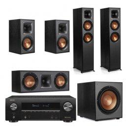 Klipsch System - Klipsch R-620F and Denon AVR-X1600H 5.1 Surround System