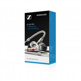 Sennheiser IE 500PRO - High Resolution Stage In Ear Headphones - Pro Clear