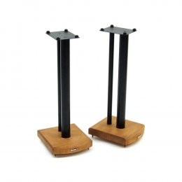 Atacama Moseco 7 - Speaker Stands (Pair) Satin Black with Natural Bamboo Base
