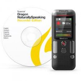 Philips Voice Tracer DVT2710 - Voice Recorder incl Dragon Speech software