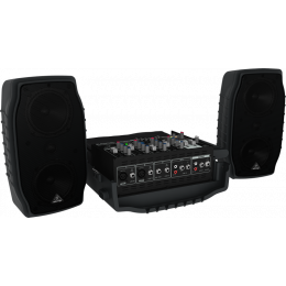 Behringer EUROPORT PPA200 - Ultra-Compact 150-Watt 5-Channel Portable PA System
