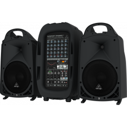 Behringer PPA2000BT - 2000W 8-Channel Portable PA System